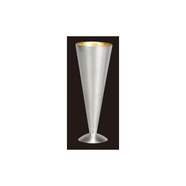 錫 シャンパングラス 金箔 S 130cc 501344 5926100