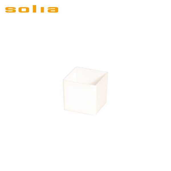 ソリア:ミニキューブ 60ml (200入) ホワイト PS30322 5084700
