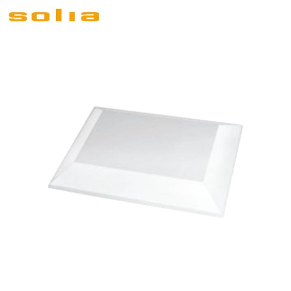 ソリア:ディアマンテ プレート (25入) ブラック PS30503 5135600