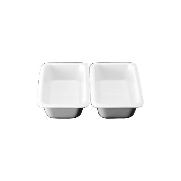 スマートチューフィング 専用陶器 角型1/2セット 2分割 JW-600(2枚組) 4253200