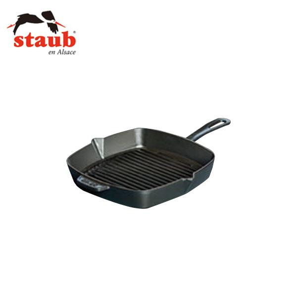 ストウブ:XO 角型 アメリカングリル ブラック 40509-521 6645110