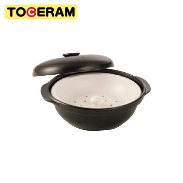 トーセラム:IH トーセラム鍋(蒸し板付) 24cm R-90IH-B 5534770