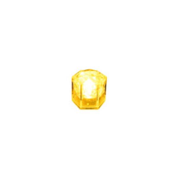 ライトキューブ クリスタル (24入) イエロー 8391310