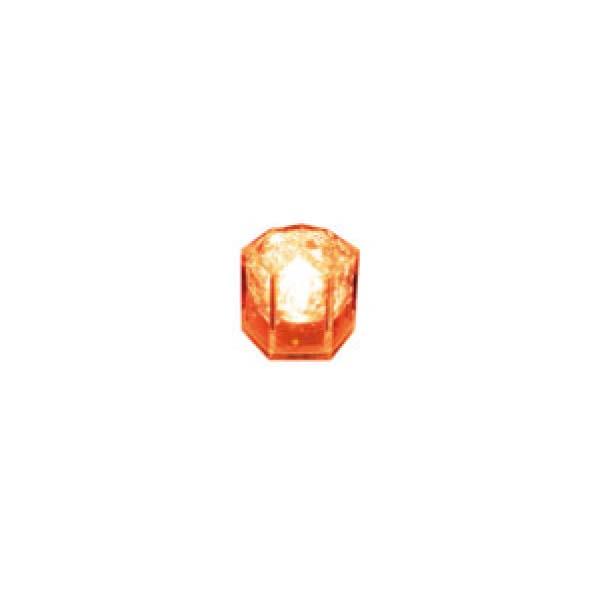 ライトキューブ クリスタル (24入) オレンジ 8391320
