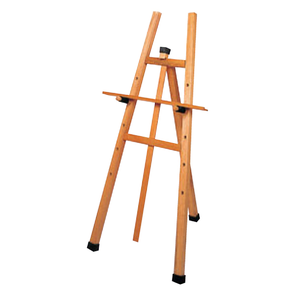 シンビ:木製 イーゼル 白木 小 OS-21NW 6212110