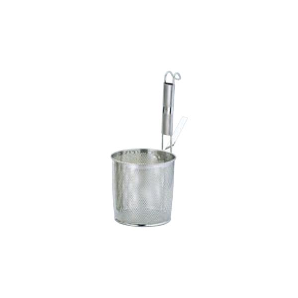 UK 18-8 パンチング パイプ柄 底平 煮ざる M 8424800