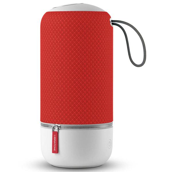 LIBRATONE(リブラトーン):ZIPP MINI Bluetooth Wi-Fi対応 ワイヤレス コンパクトスピーカー Victory Red (赤) LH0020010JP2003