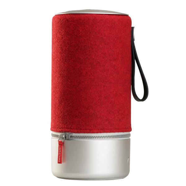LIBRATONE(リブラトーン):ZIPP COPENHAGEN Bluetooth Wi-Fi対応 ワイヤレス スピーカー Rasberry Red (赤) LH0032020JP1004