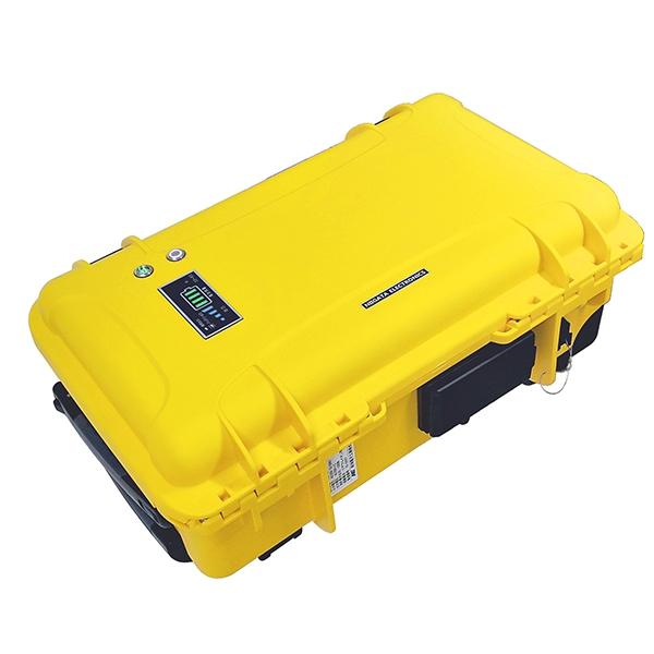 新潟電子工業:可搬型蓄電システム NE-BAT1000-Y
