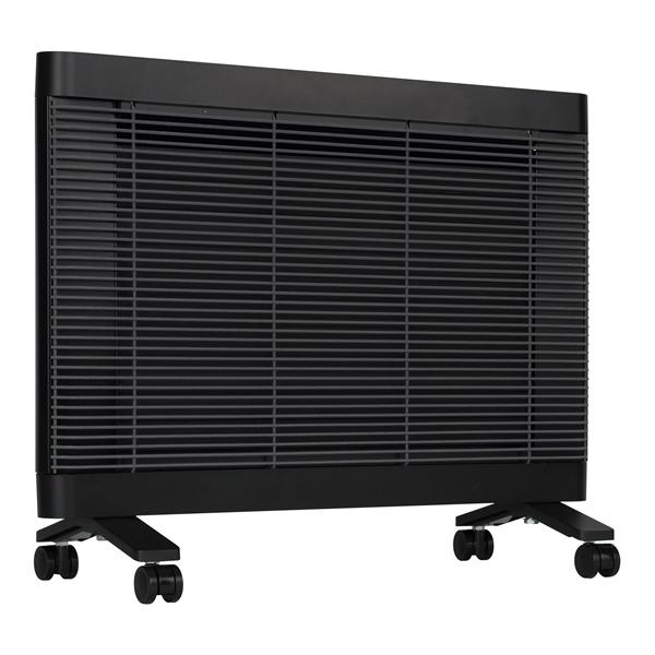 インターセントラル:遠赤外線ヒーター マイヒートセラフィ ブラック MHS-700(K)