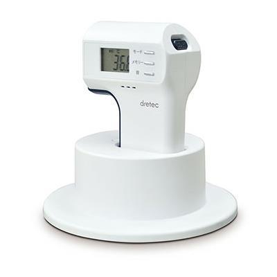 dretec(ドリテック):非接触赤外線体温計 ホワイト TO-400WT