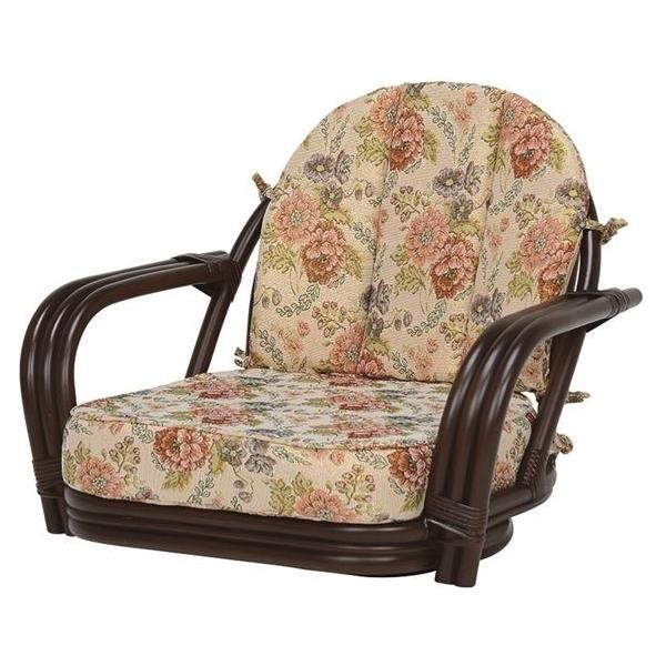 【代引不可】萩原:回転座椅子 RZ-931DBR