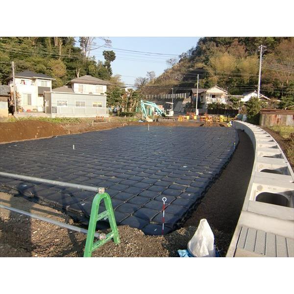 萩原工業:UVブラック土のう 200個 UVDB