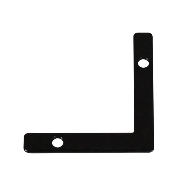 福井金属工芸:アルミ額用鉄角金具30×4.5 1000個入 6276