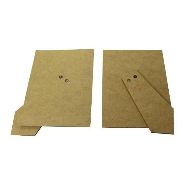 福井金属工芸:フォトスタンド用足付裏板129×89 400枚入 6114