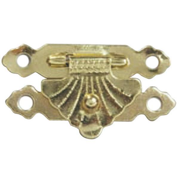 福井金属工芸:扇形留金具 大 21×38 50個入 6352-G