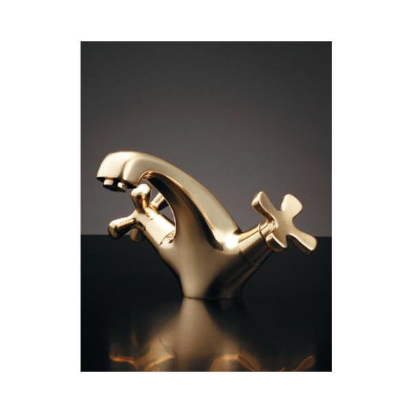 沸騰ブラドン カクダイ:2ハンドル混合栓ゴールド 150-437:イチネンネット-木材・建築資材・設備