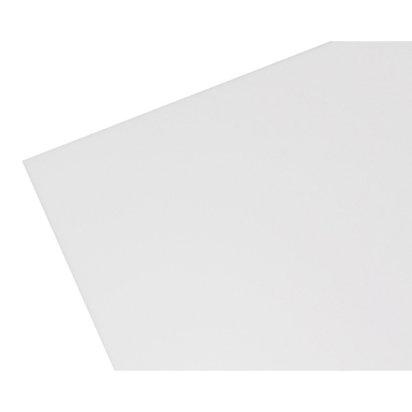 【代引不可】【受注生産品】 ハイロジック:アクリル板 白色 5mm厚 5818AW