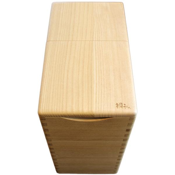 イシモク:桐の米びつ20kg 1合マス付