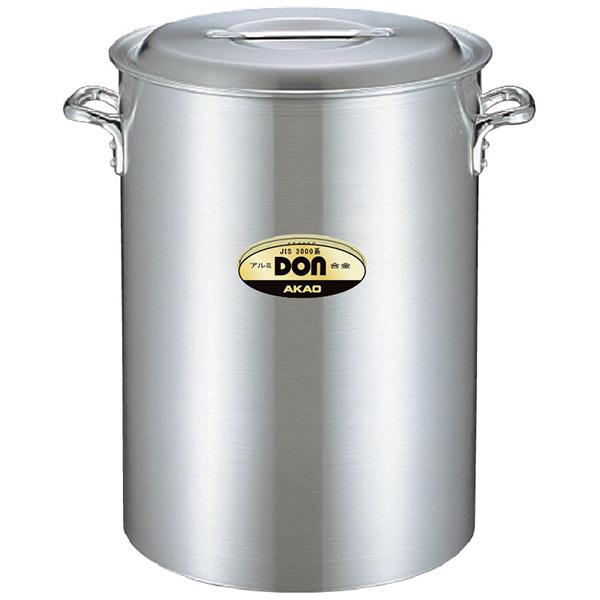 アカオアルミ:DON アルミ 深型寸胴鍋 42cm