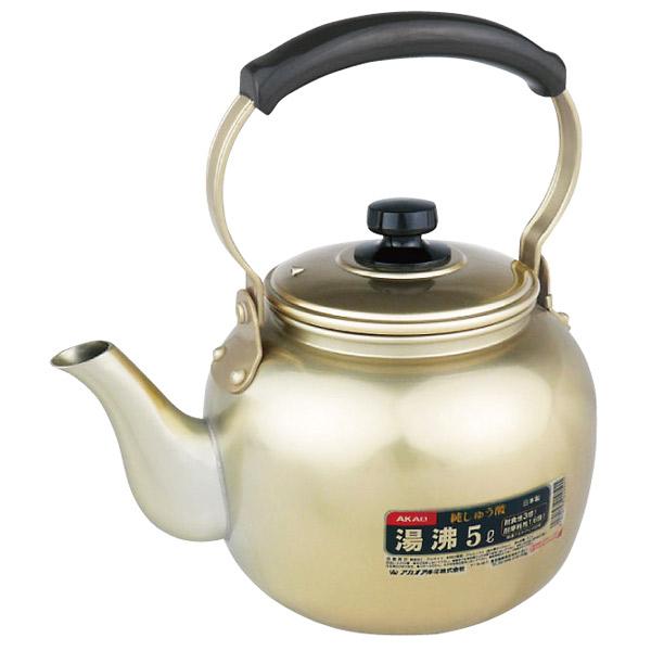 アカオアルミ:アルミしゅう酸 湯沸 10リットル