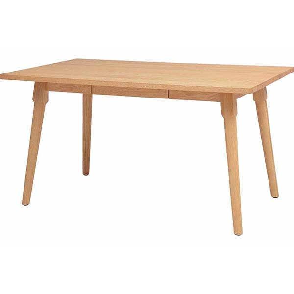 【代引不可】市場:LFP ダイニングテーブルDining Table 1350 ナチュラル LFPT-3027NA