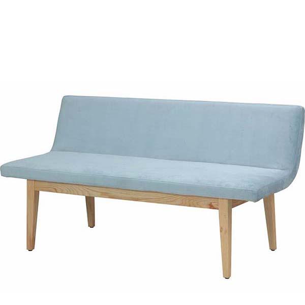 【代引不可】市場:SUITE バックレストベンチ Backrest Bench ブルー SUC-2997BL