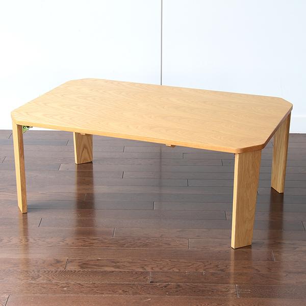 【代引不可】市場:Proche テーブル 90 ナチュラル T-2585NA