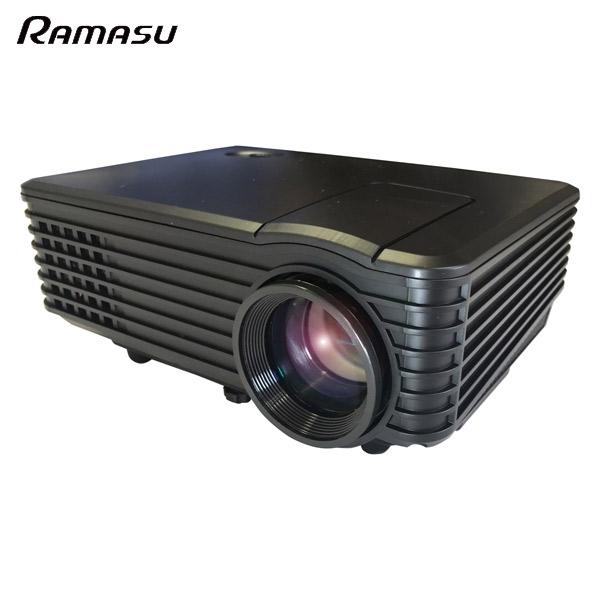 RAMASU(ラマス):LEDコンパクトホームプロジェクター RA-P800