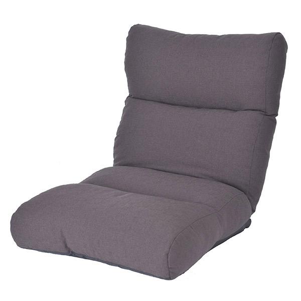 【代引不可】atease(アティーズ):座椅子 カブール スモークグレー FD1507