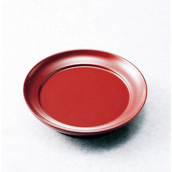 伊予桜井漆器会館:椿皿 根来(木製・五客)