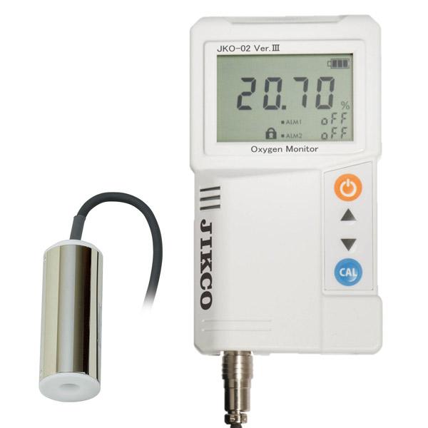 イチネンジコー:低濃度酸素濃度計 JKO-O2LD3