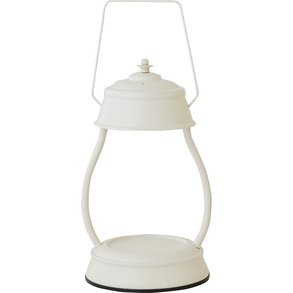 カメヤマ:ヤンキ-キャンドル ハリケーン キャンドルウォーマー ランプ ホワイト