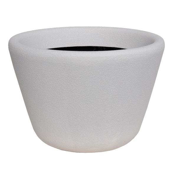 大和プラスチック:ファイバーグラス鉢カバー ランプ 60型 ホワイト