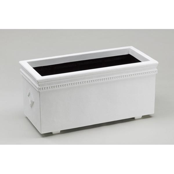 【代引不可】大和プラスチック:ホワイトプランターWRC-100型 ホワイト