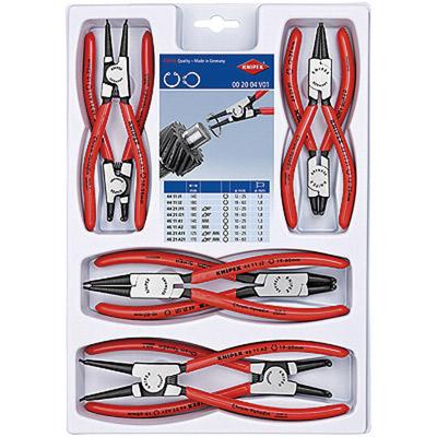 KNIPEX(クニペックス):スナップリングプライヤーセット(8本組) 002004V01