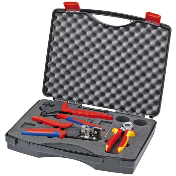 KNIPEX(クニペックス):太陽光発電用工具セット 9791-01