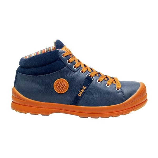 DIKE(ディーケ):25.5 作業靴サミットアドリアンネイビー 27021-193-38