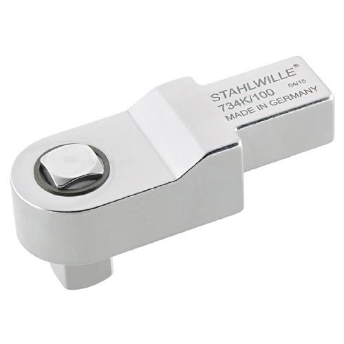 STAHLWILLE(スタビレー):校正専用トルクレンチ差替ヘッド 734K/100