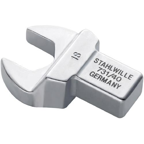 STAHLWILLE(スタビレー):トルクレンチ差替ヘッド(スパナ) 731/40-34