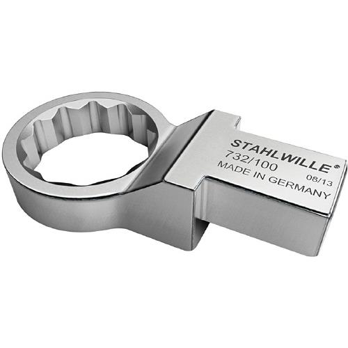 STAHLWILLE(スタビレー):トルクレンチ差替ヘッド(メガネ) 732/100-27