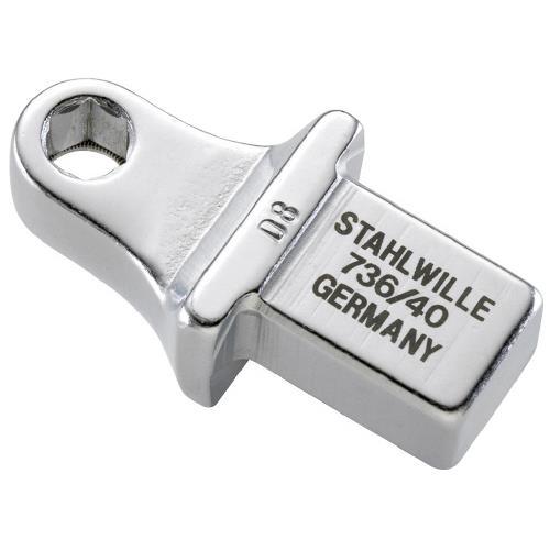 """STAHLWILLE(スタビレー):トルクレンチ差替ヘッド(5/16"""") 736/40"""