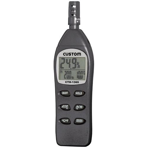 カスタム 温湿度計 温度計 湿度計 4983621300017 カスタム:デジタル温湿度計 CTH-1365