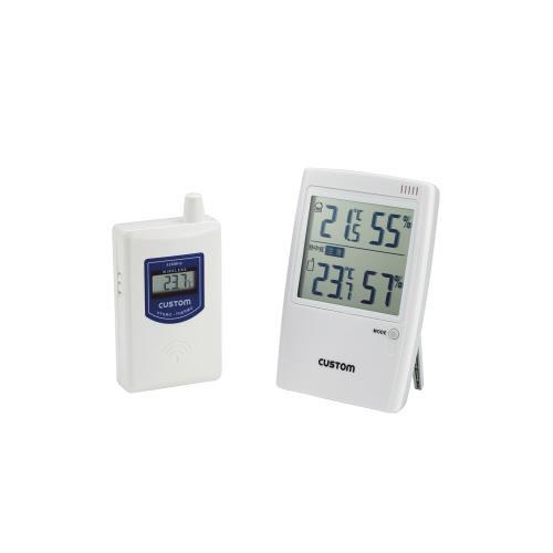 カスタム:熱中症警告インジケーター付 温湿度モニター HI-01RF