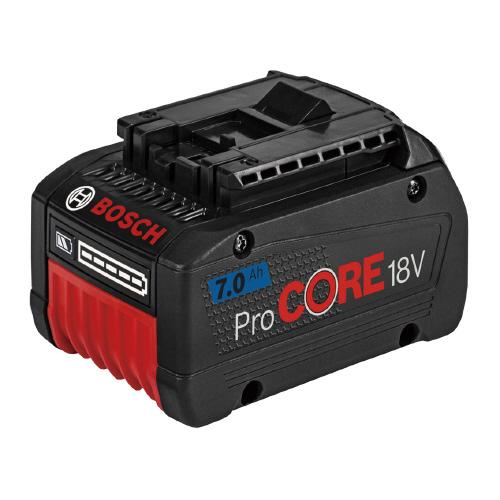 BOSCH(ボッシュ):イオンバッテリー 18V・7.0AH ProCORE18V7.0