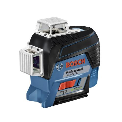 BOSCH(ボッシュ):レーザー墨出し器 GLL3-80CG 工具 測定 計測 垂直 水平