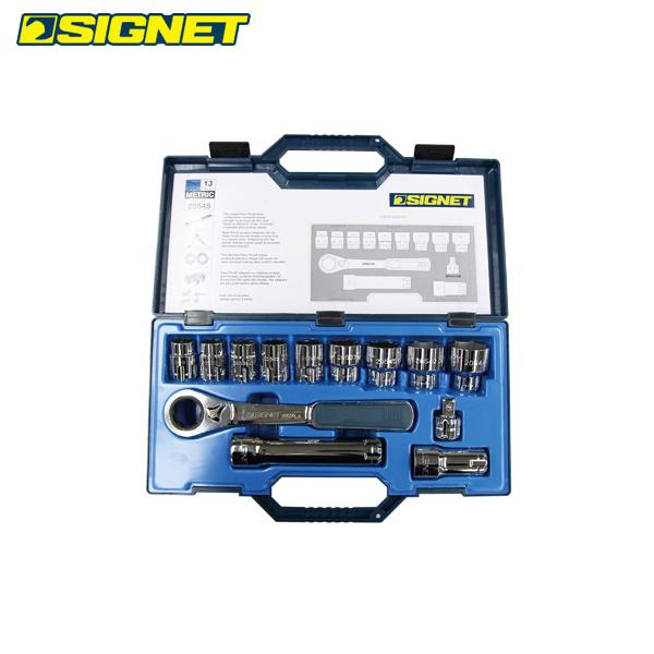 SIGNET(シグネット):13PC ボルテックスソケットセット(差込角30mm) 20545