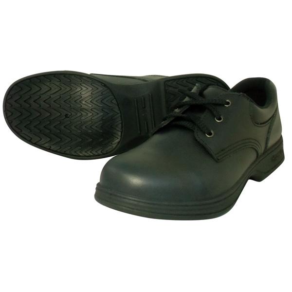 日進ゴム:ハイパーV#9000 JIS規格認定安全靴(ヒモ) 黒 26.0 #9000