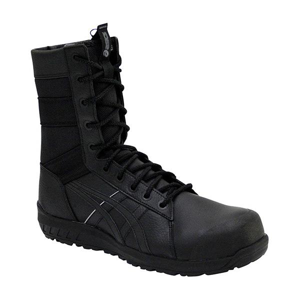 アシックス:ウィンジョブ 100(ブラック×ブラック) 24.5 CP402