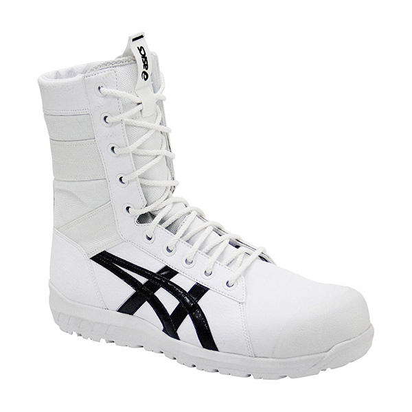 アシックス:ウィンジョブ 001(ホワイト×ブラック) 24.5 CP402